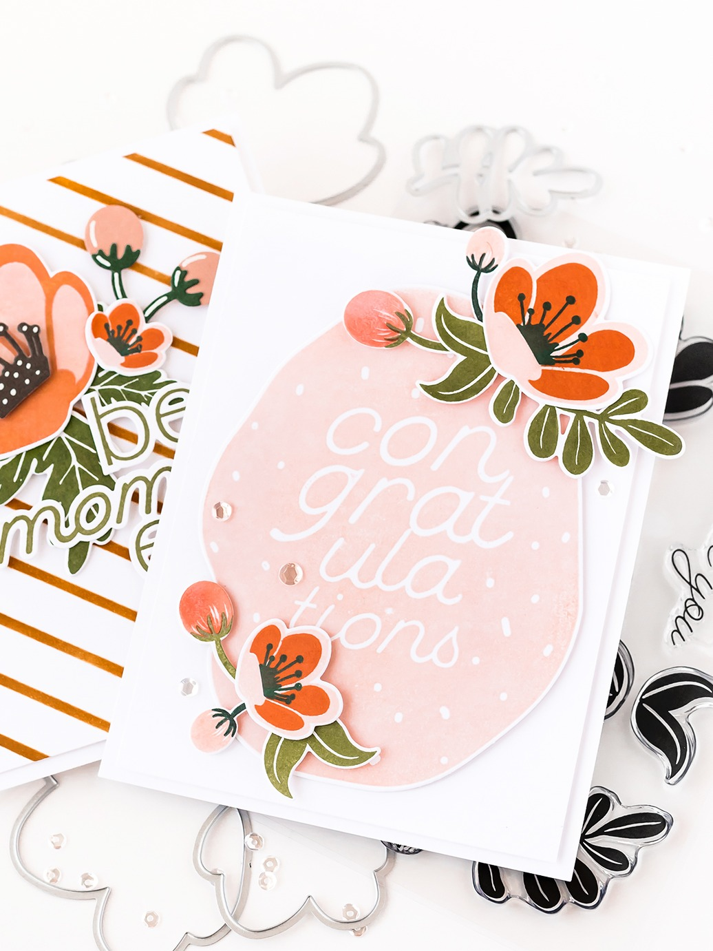 Pigment Blossoming Stamps