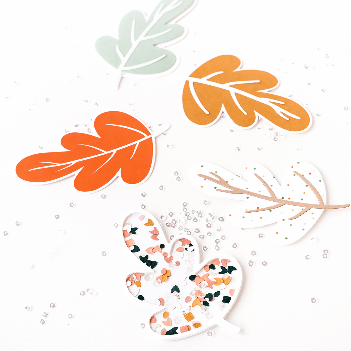 Pigment Falling Leaves Collection