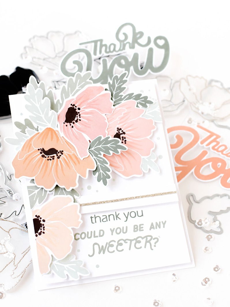 Pigment Anemone Stamps