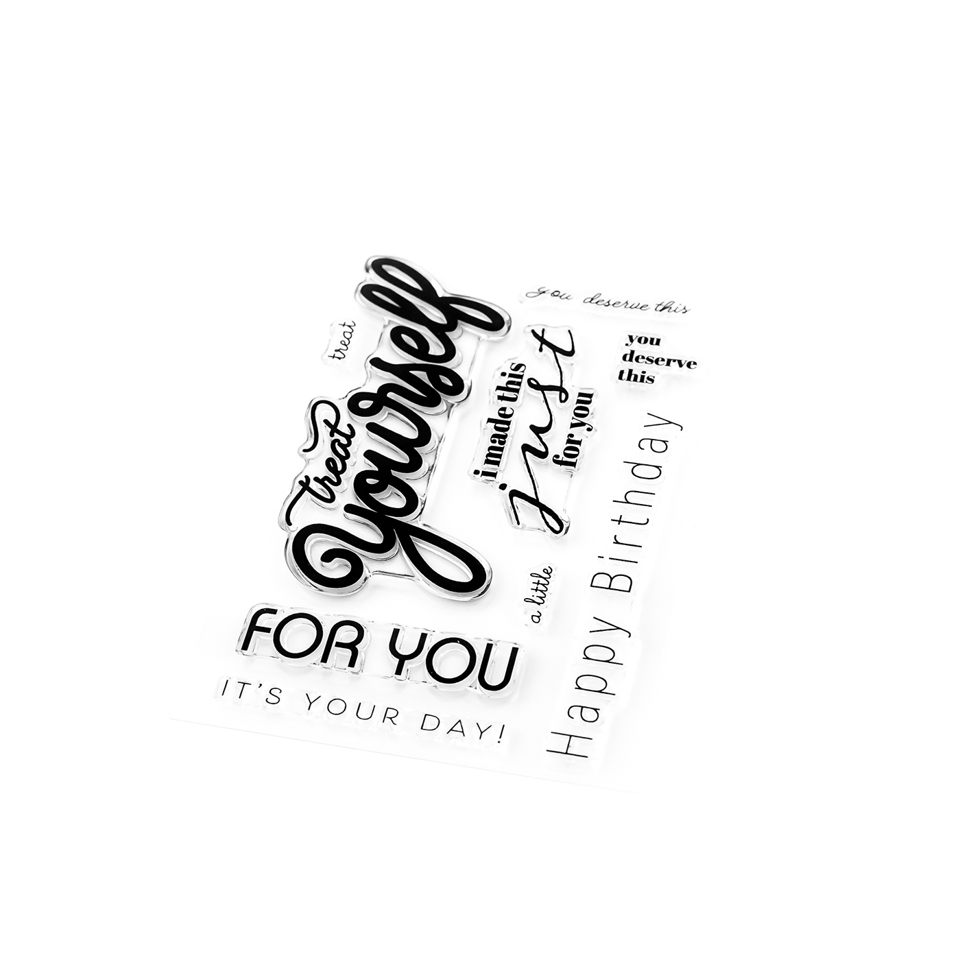 Pigment Treat Yourself Stamps
