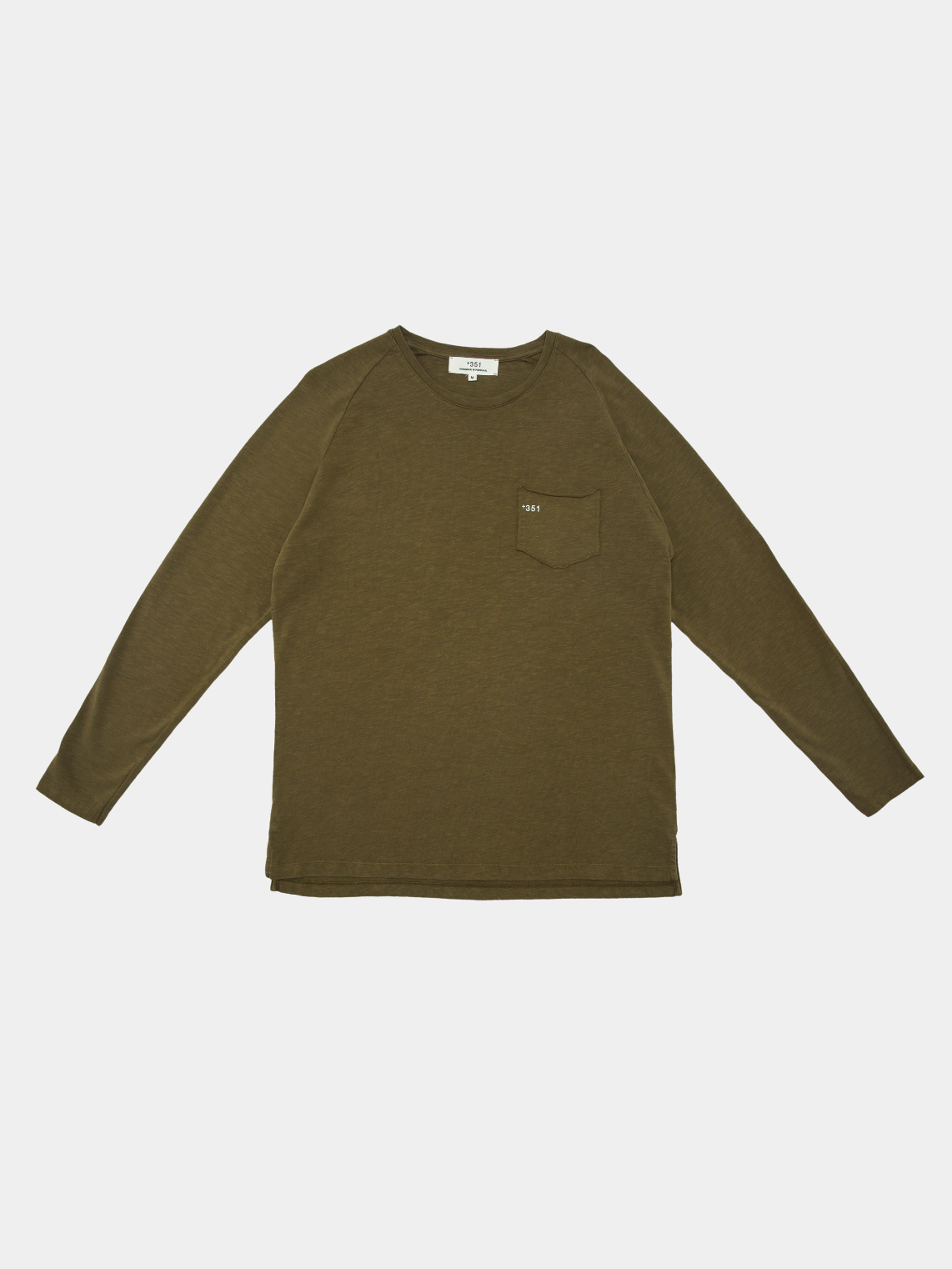 Long Sleeve Essential Militar Green