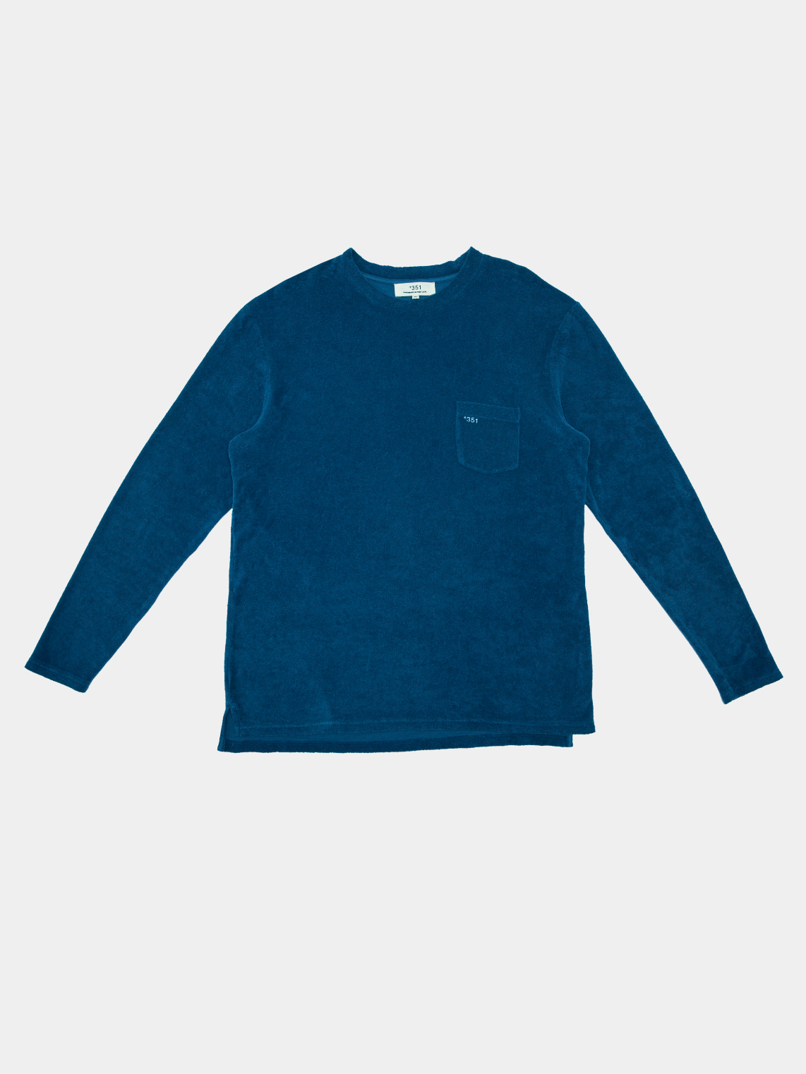 Long Sleeve Terry Blue Ocean