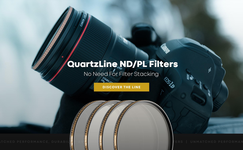 nd filter vs polarizer