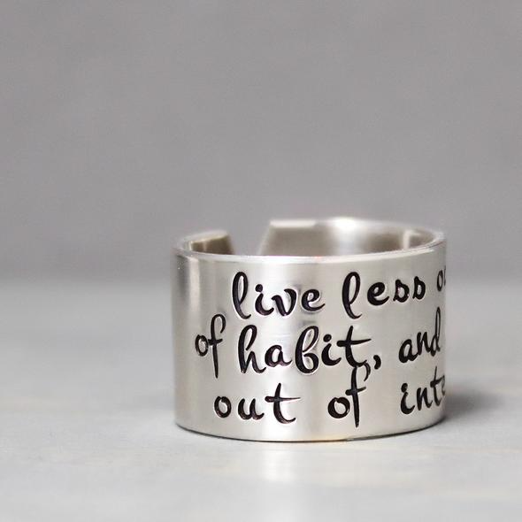 Silver Inspiration Ring