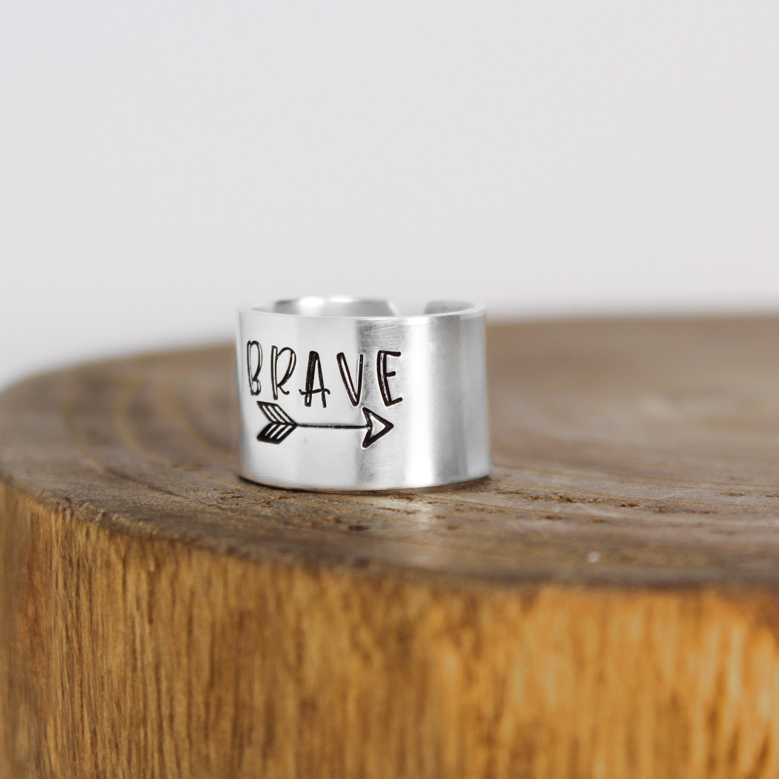 Brave Ring Sterling Silver