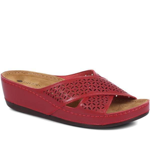 Red Mule Sandals