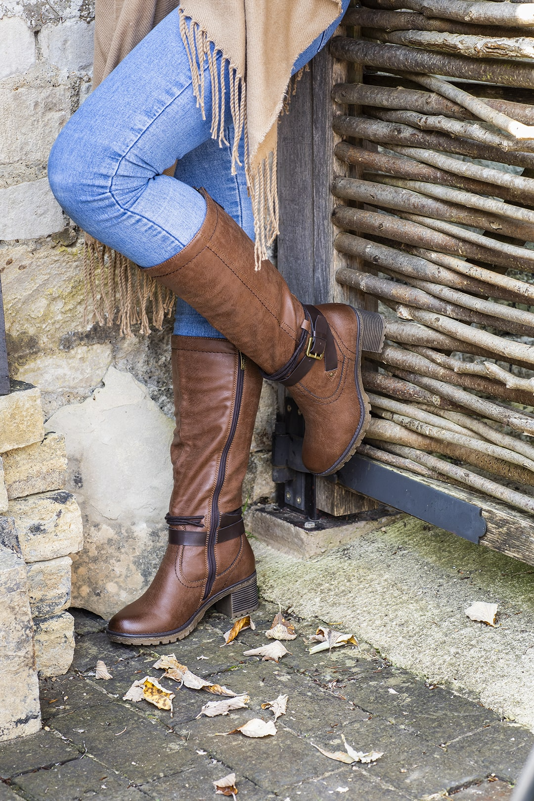 Slouch Knee High Boots