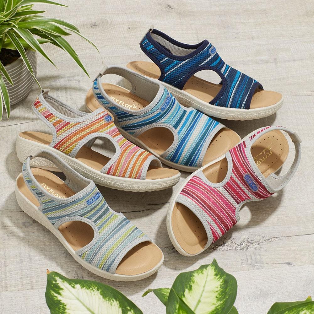 Stretch Fit Sandals