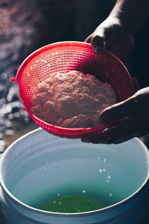 Processo de produção artesanal de queijo