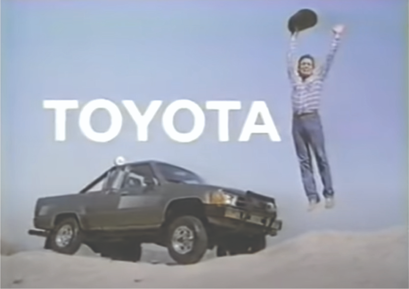 Jumping for Toyota