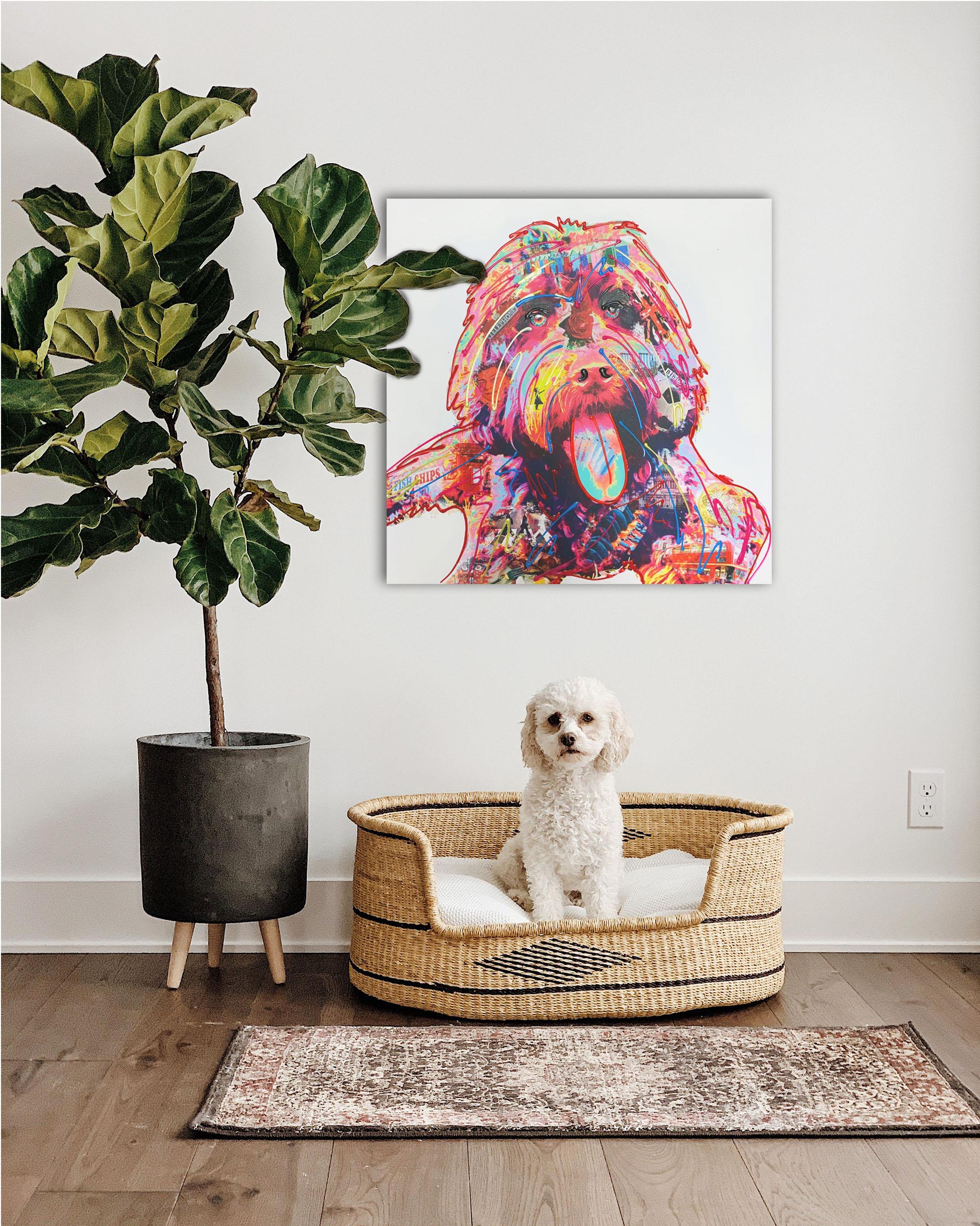Coco Cockapoo, Pet Portrait Commissions available