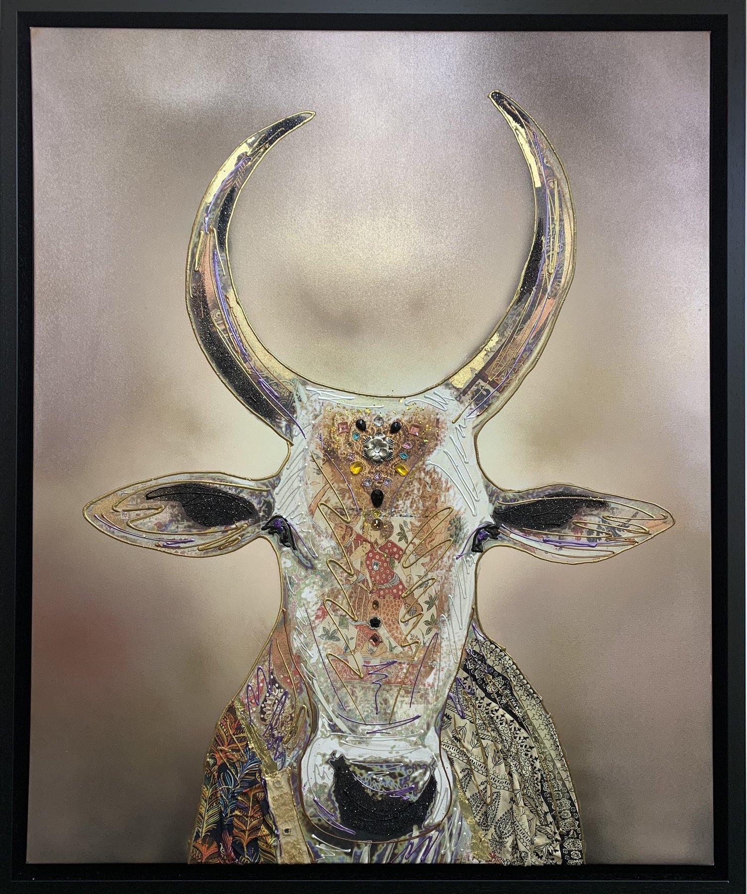 Sacred Cow Original Art Work