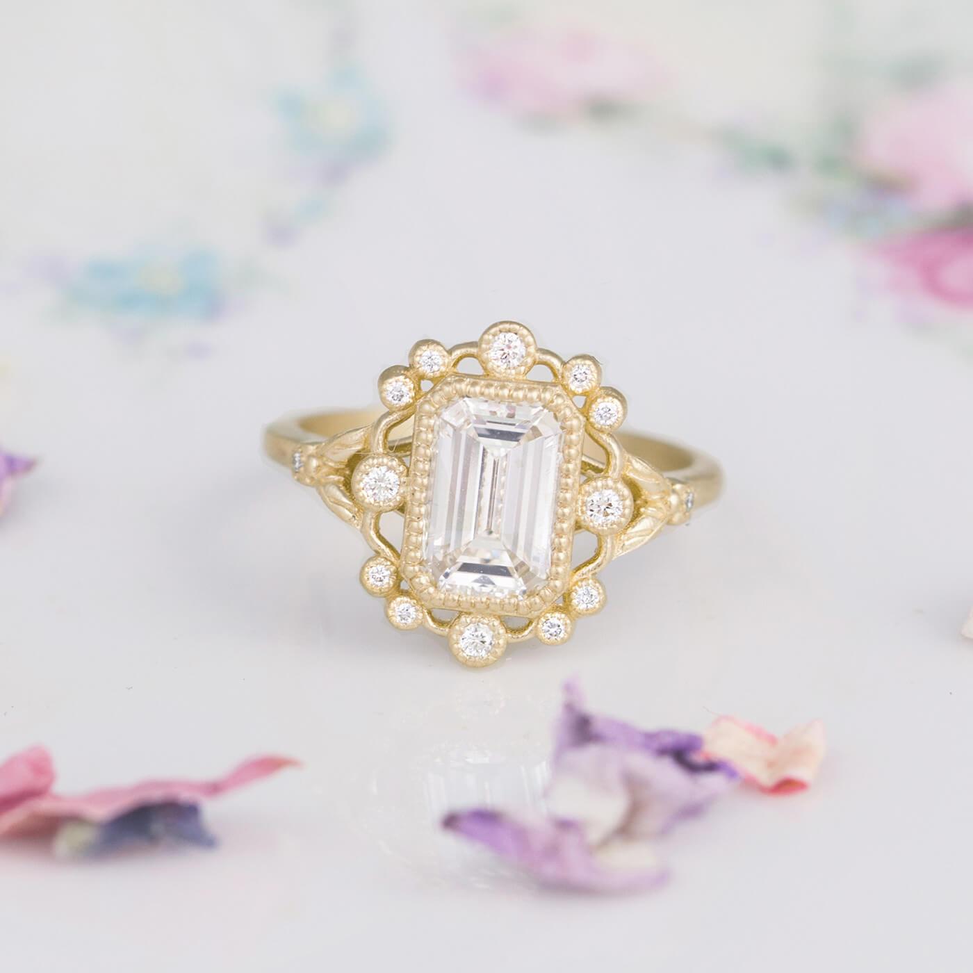 Mirabelle Vintage Inspired Ring Setting