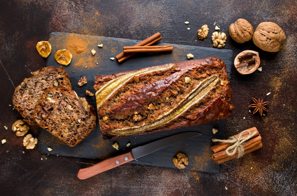 Ingredients for Banana Bread Recipe