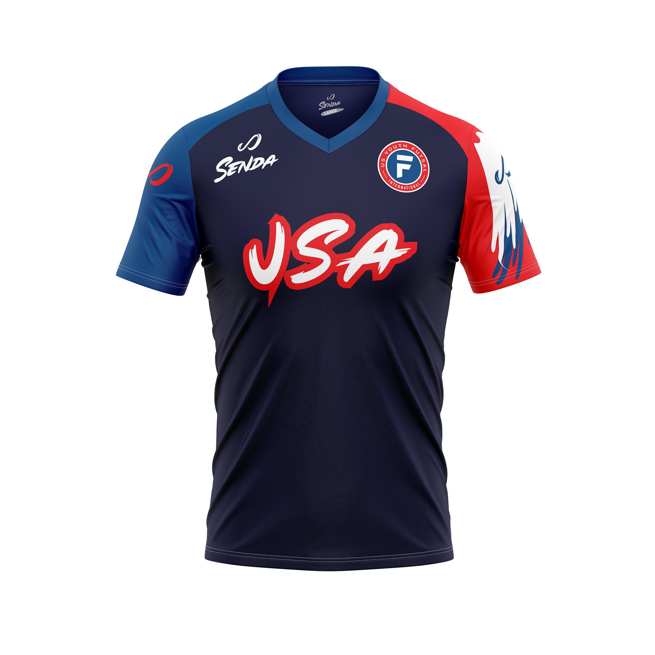 USYF away jersey, front