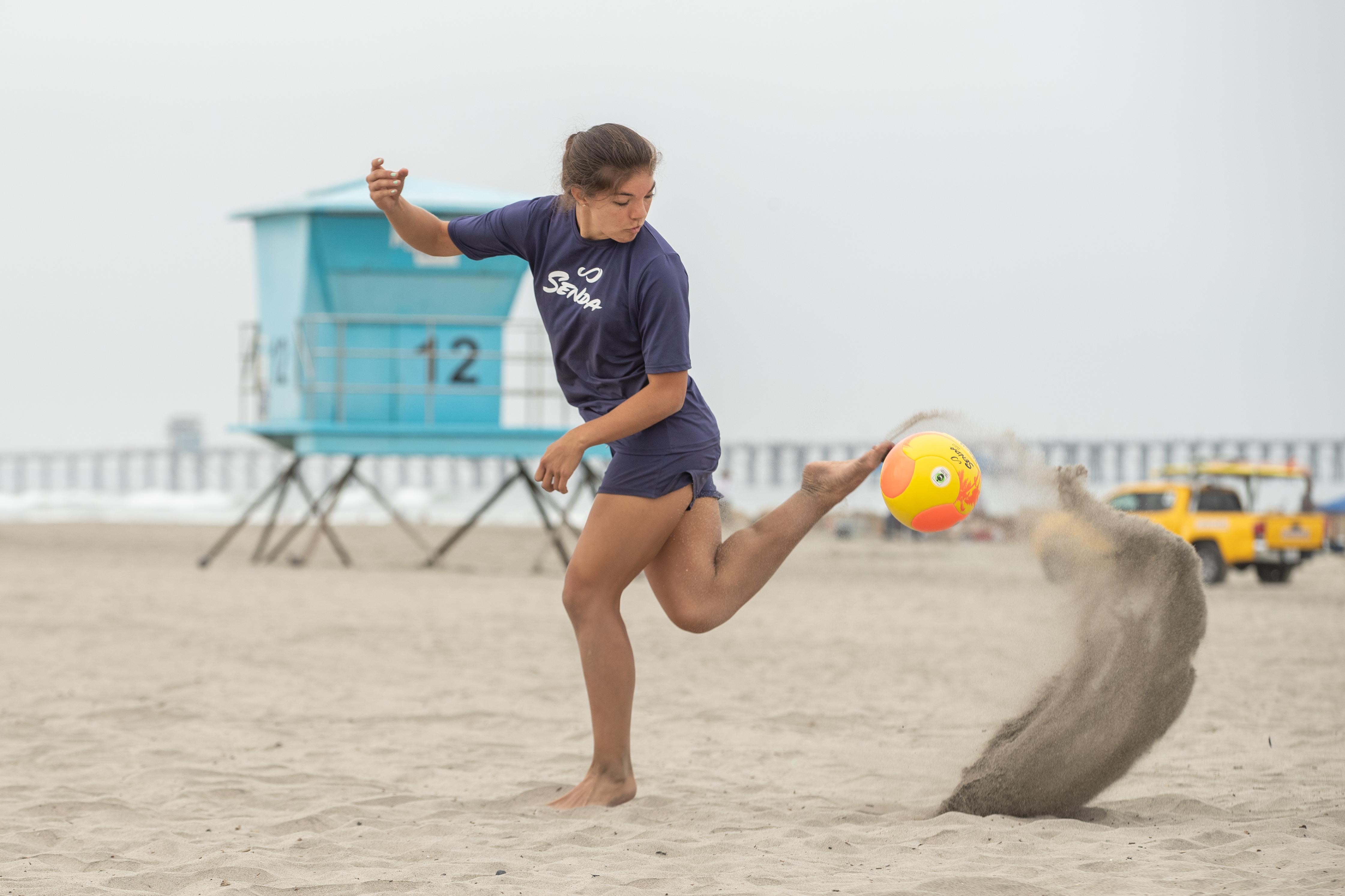 Senda Playa Beach Soccer Ball; improve your skills