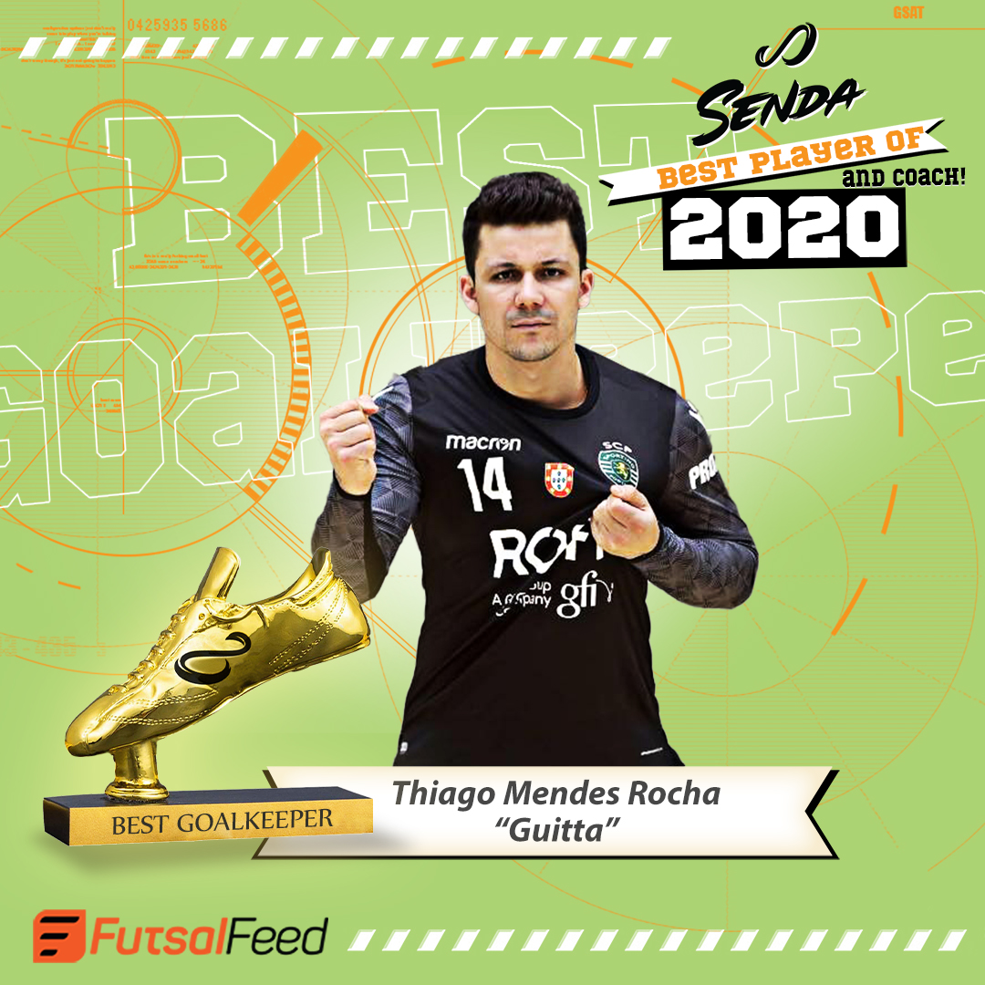 "FutsalFeed-Senda-Best Goalkeeper 2020-Thiago Mendes ""Guitta"""