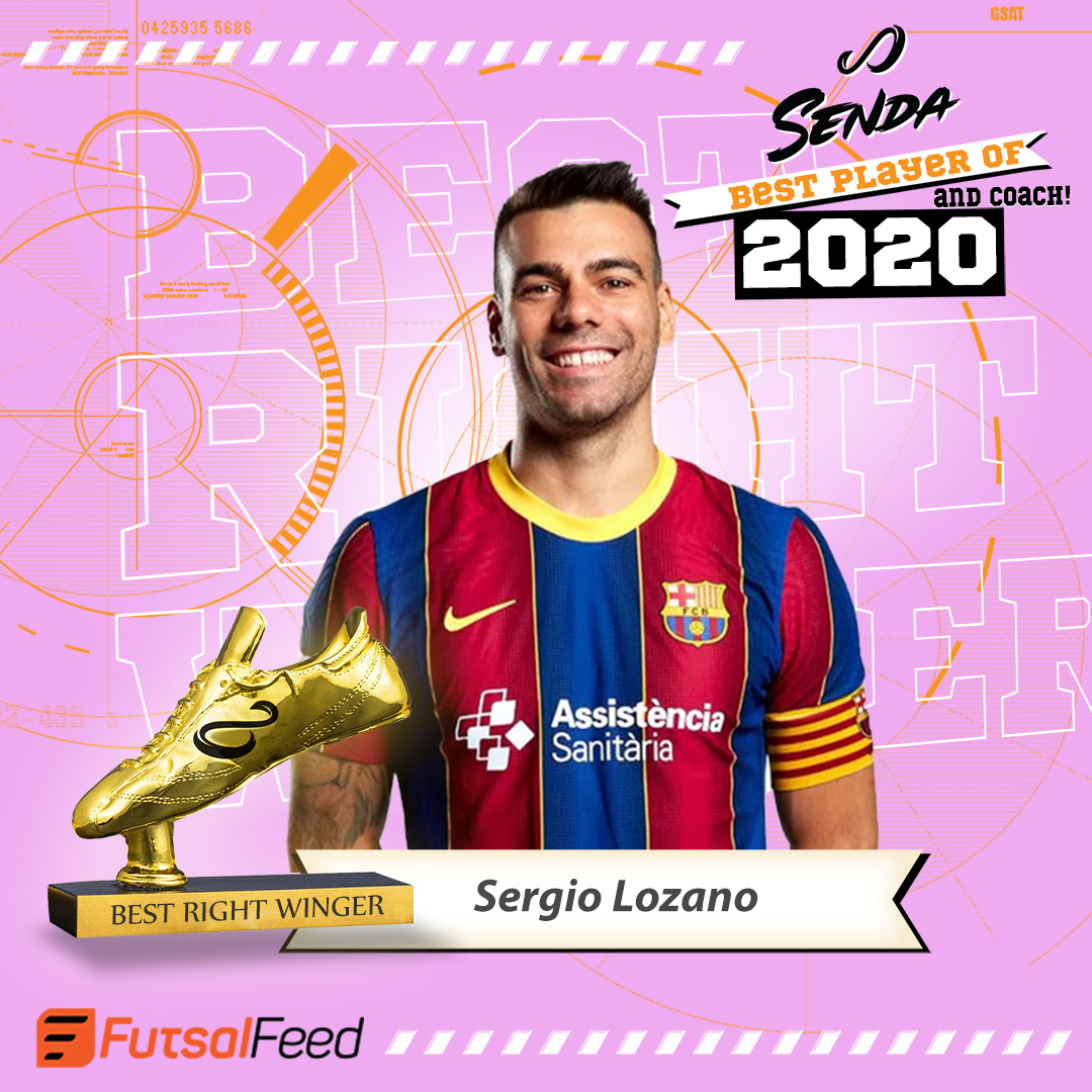 FutsalFeed-Senda best right winger 2020-Sergio Lozano