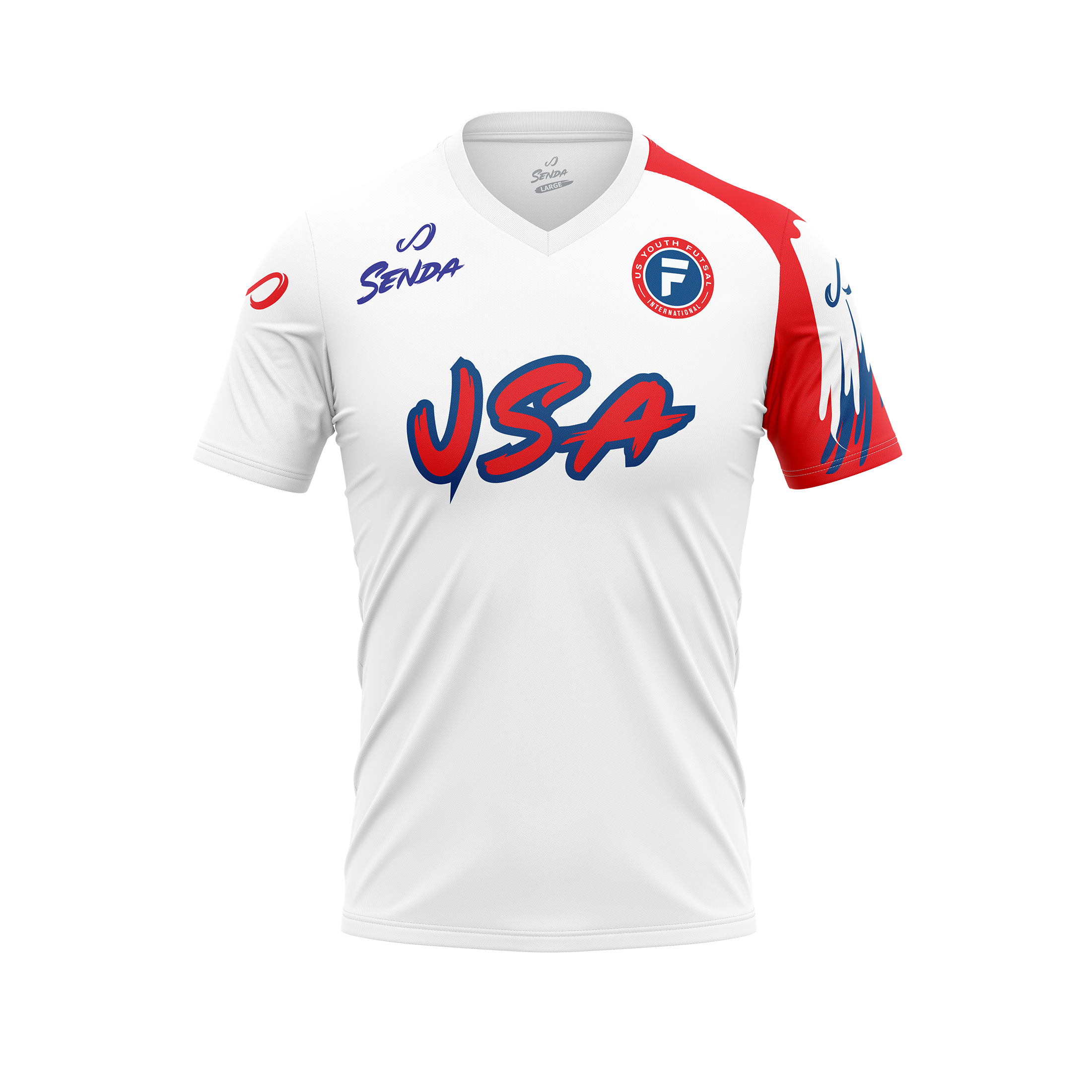 USYF home jersey, front
