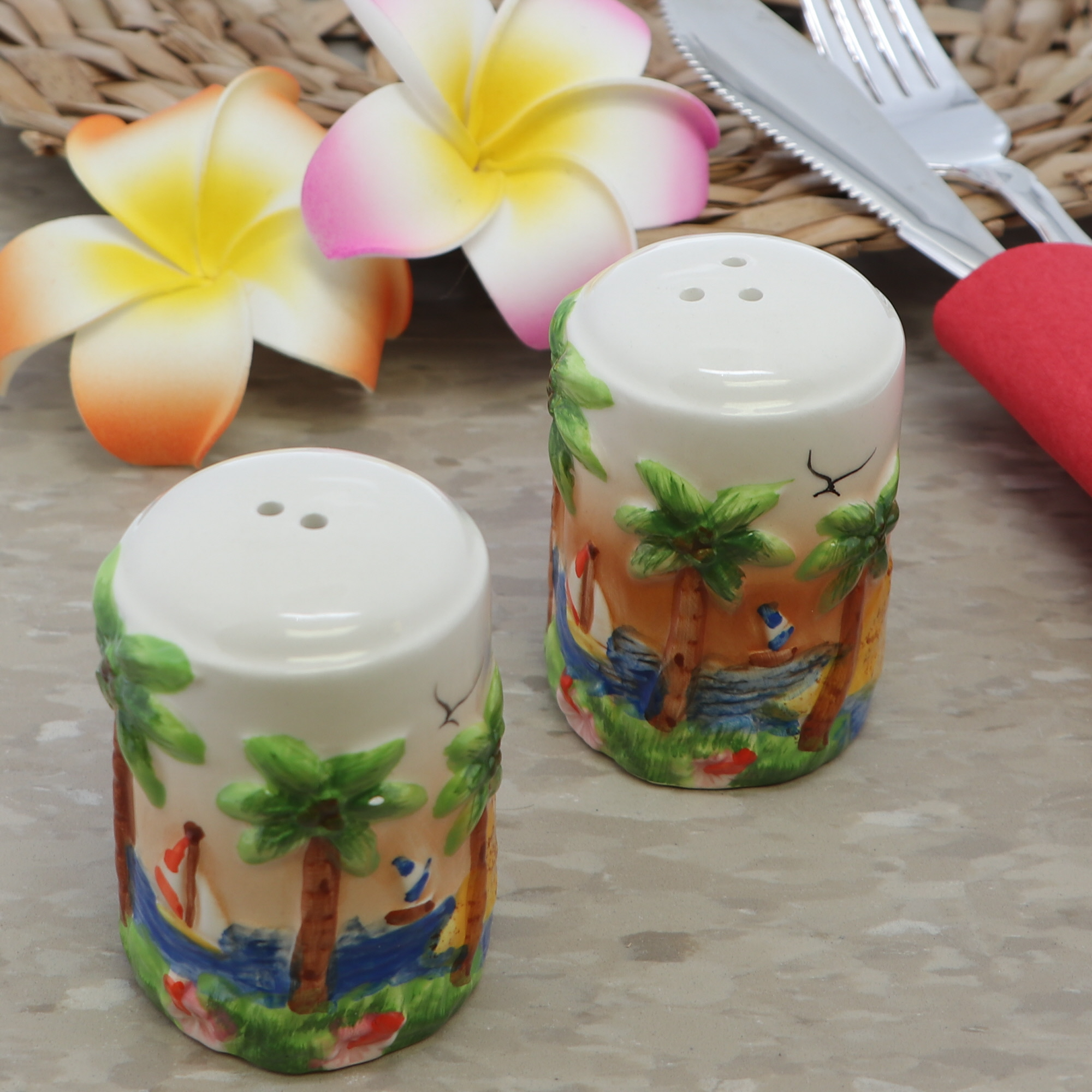 salt and peppers shakers
