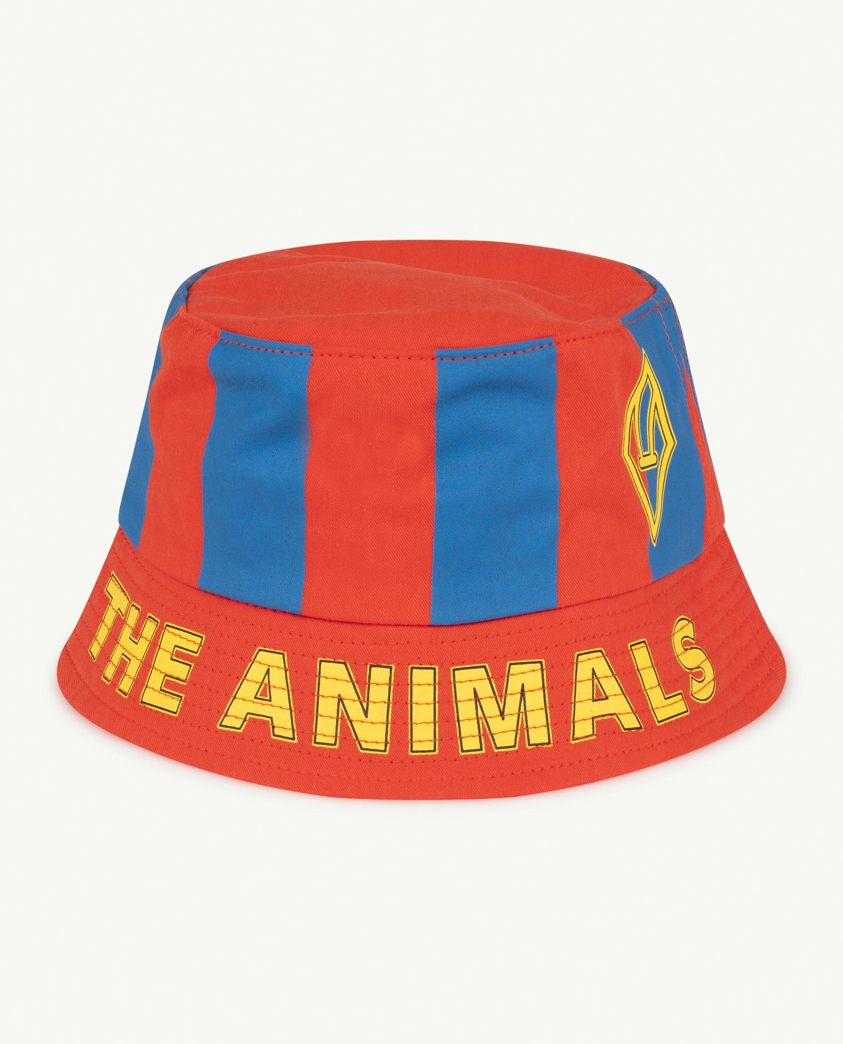the animals observatory starfish kids hat red stripes