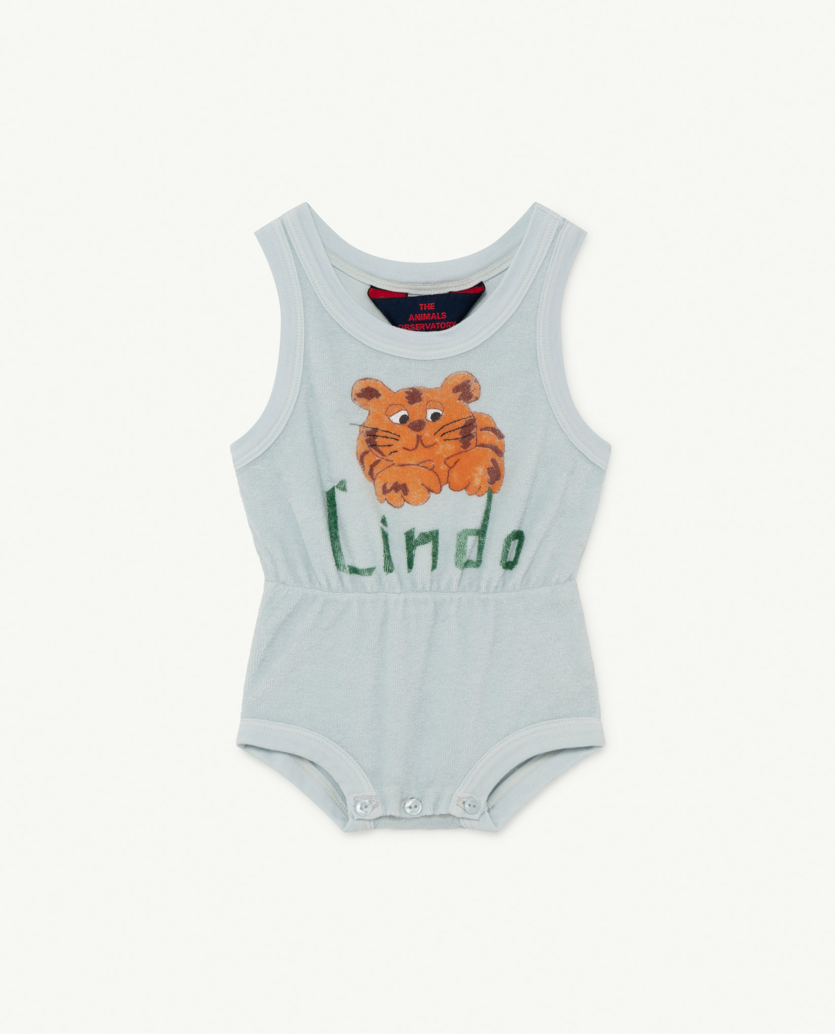the animals observatory squirrel baby body blue lindo