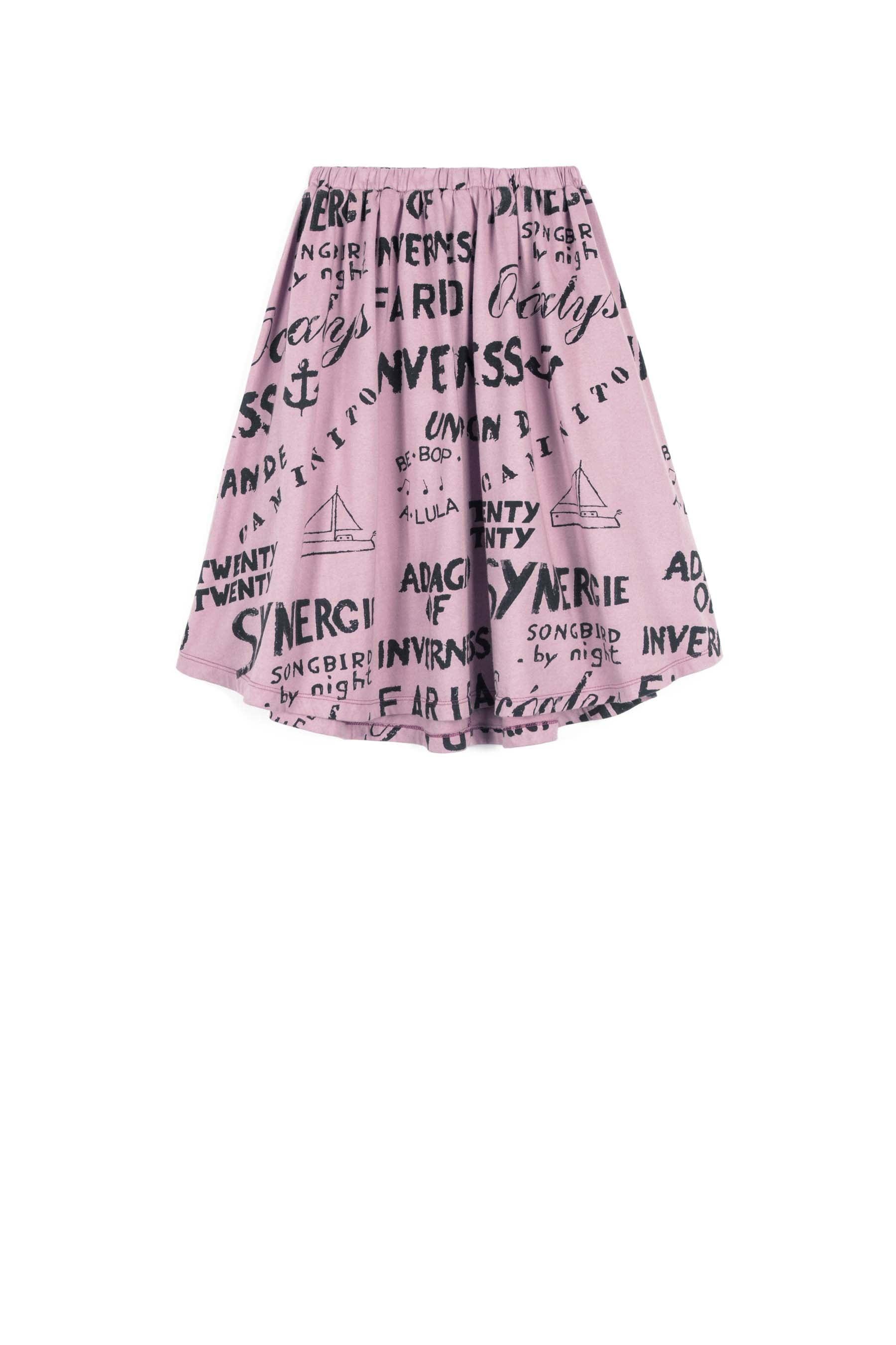 wolf rita simone skirt synergie pink