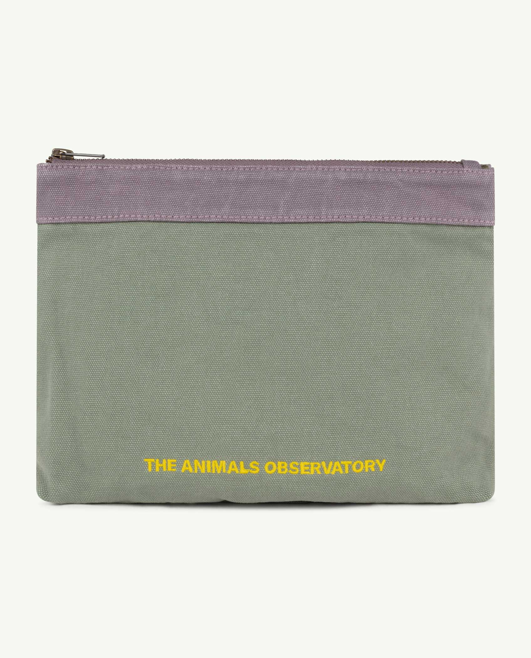 the animals observatory purse pouch military green the animals