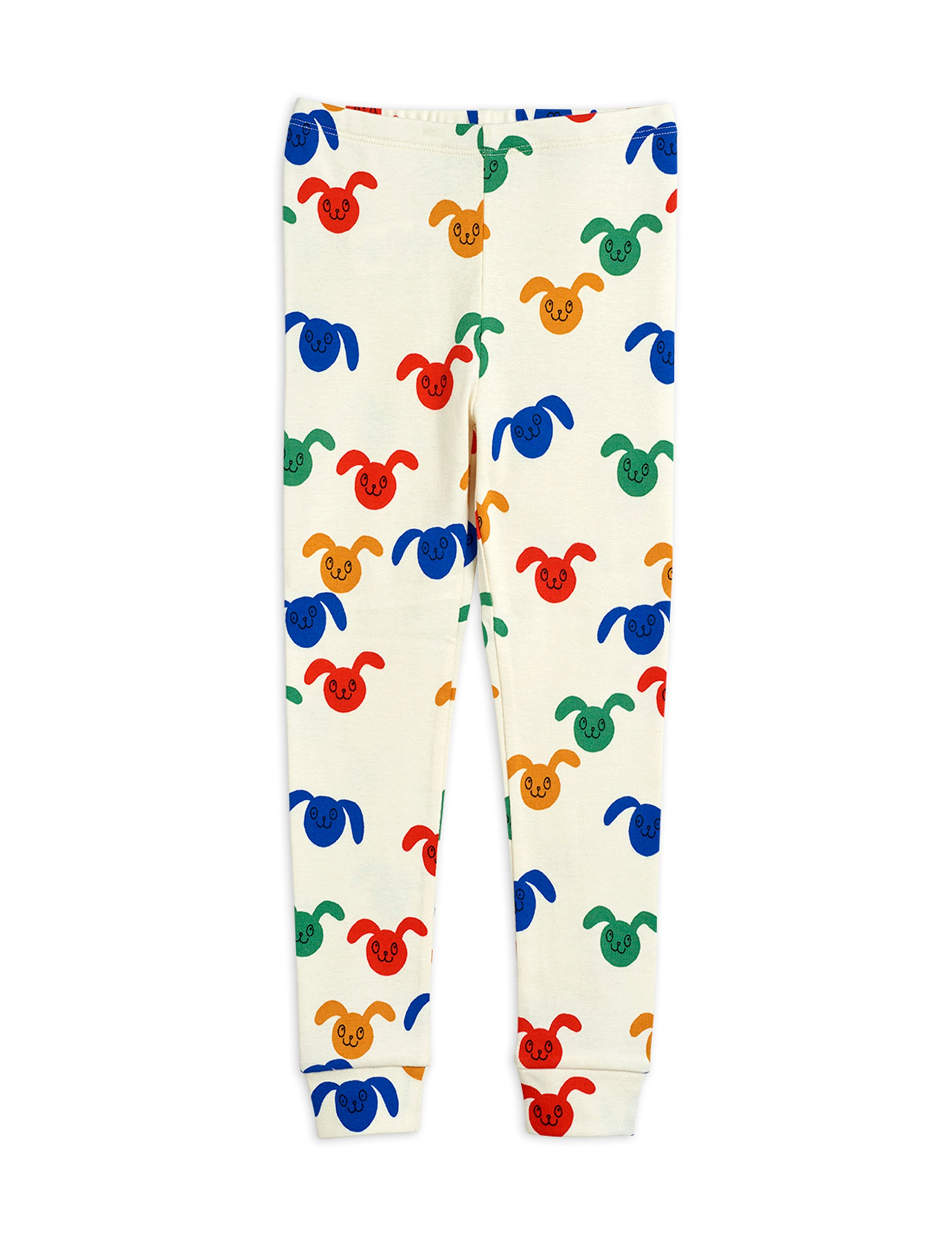 mini rodini rabbits allover leggings multi