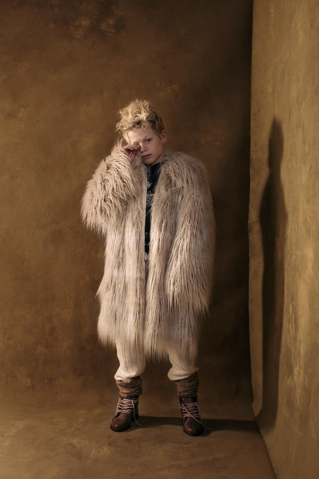 little creative factory beatnik coat