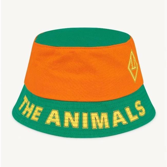 the animals observatory starfish kids hat orange logo