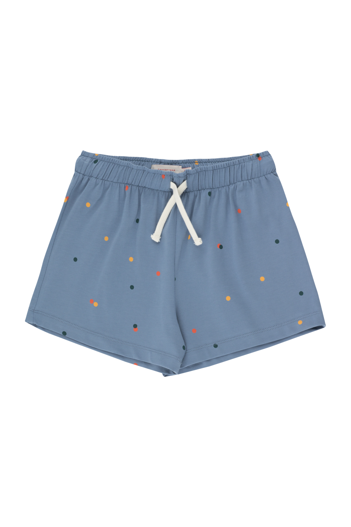 tinycottons ice cream dots shorts grey blue