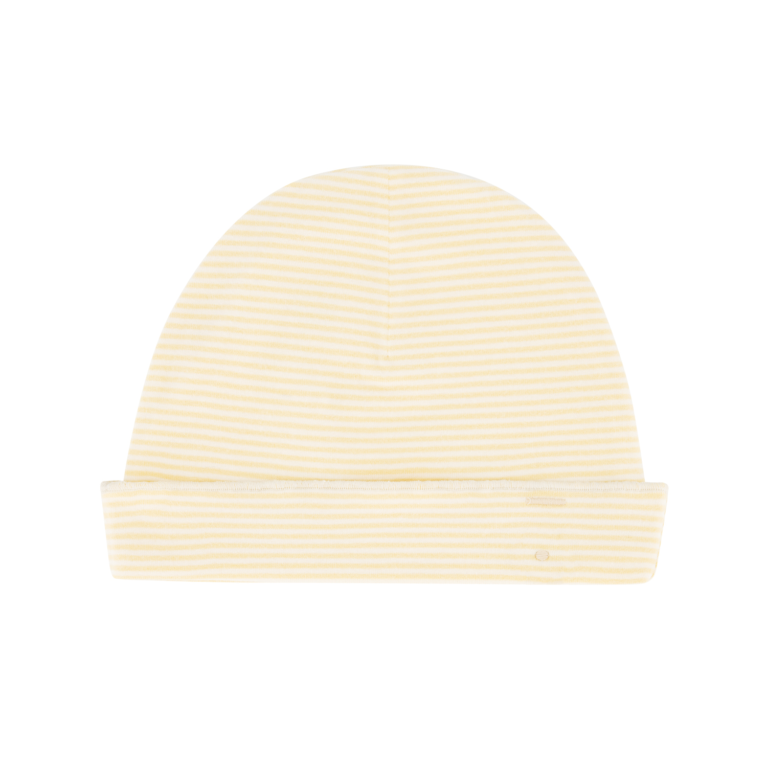 gray label baby beanie mellow yellow cream