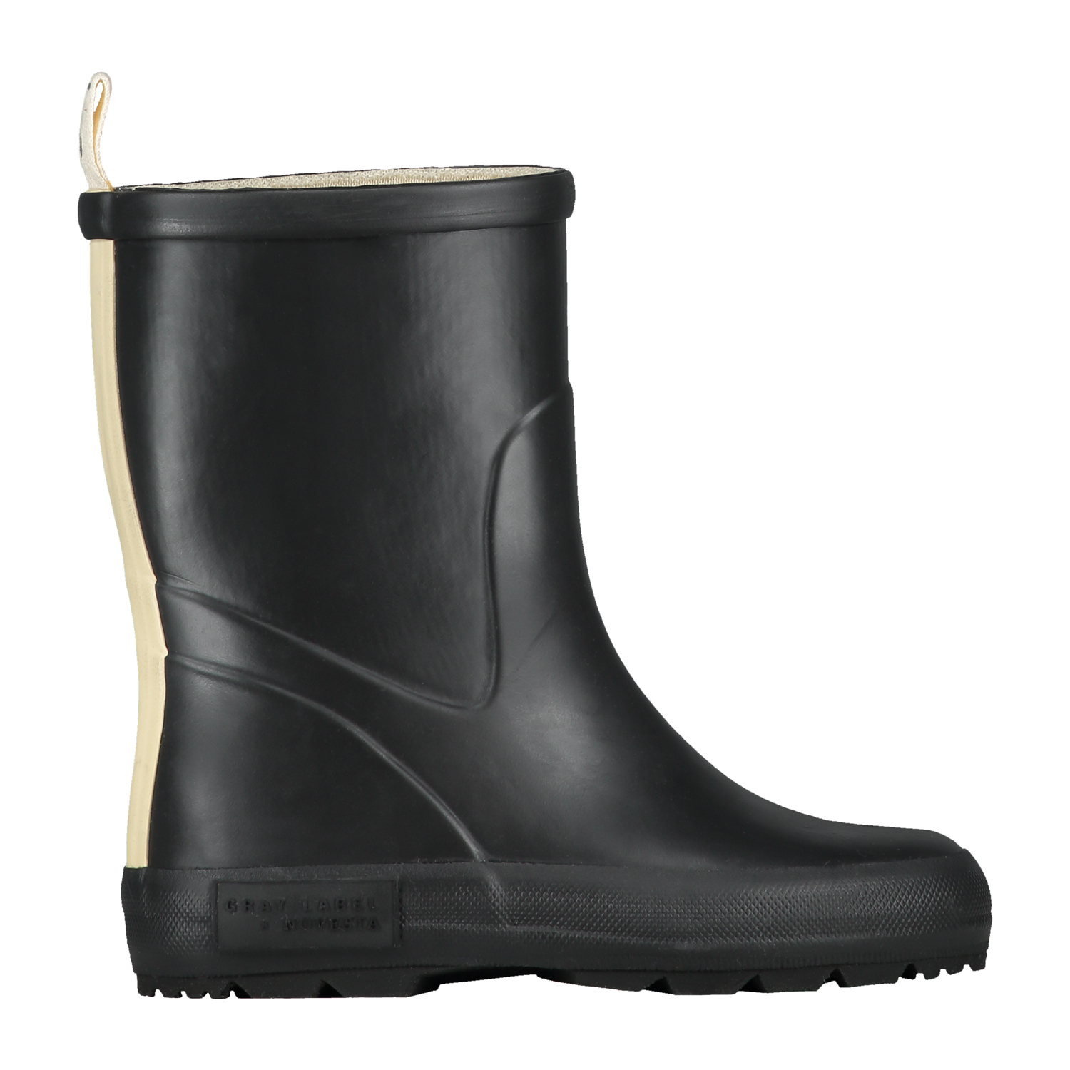 gray label x novesta rain boots nearly black