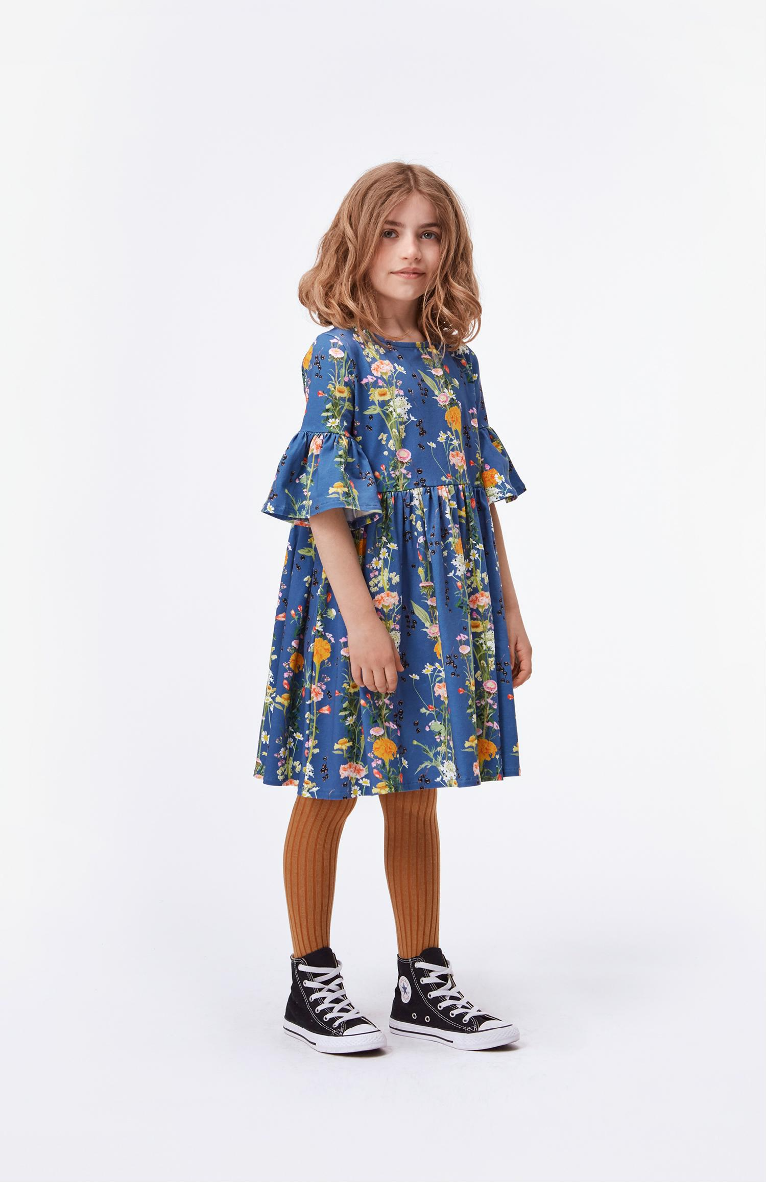 molo chasity dress vertical flowers