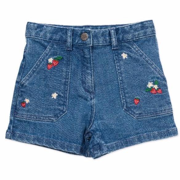 bonton arizona shorts denim blue