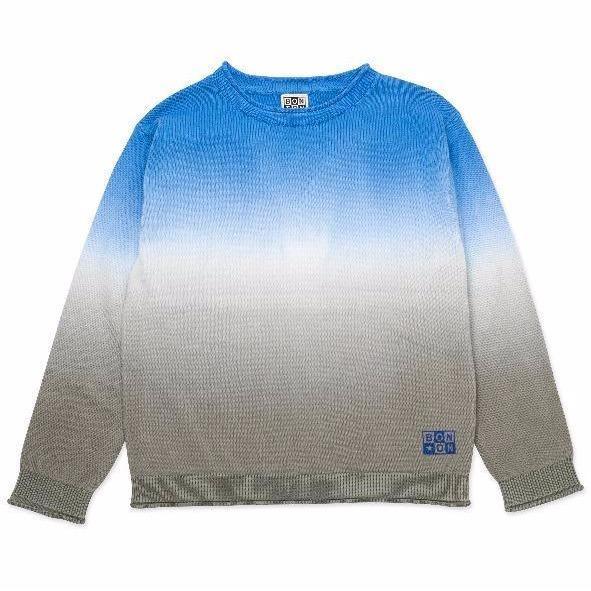 bonton knit pullover tie dye