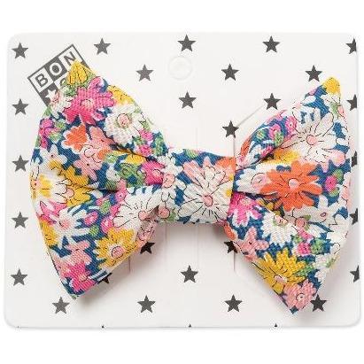 bonton liberty floral hair clip daisies