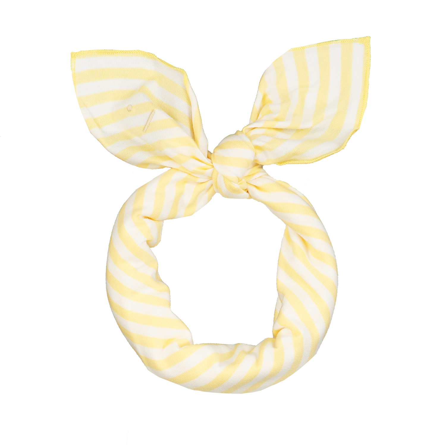 gray label head scarf mellow yellow off white