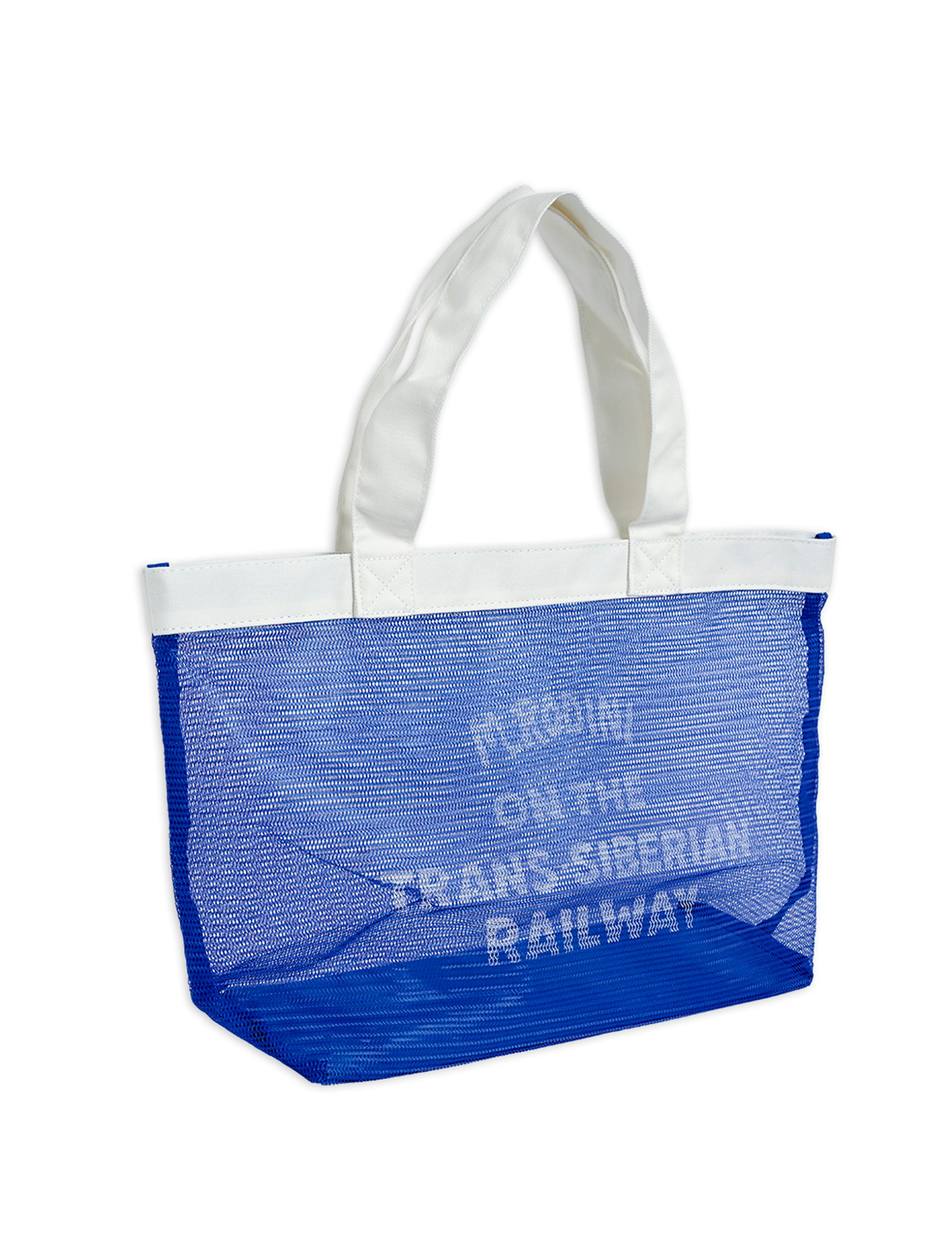 mini rodini mesh bag blue