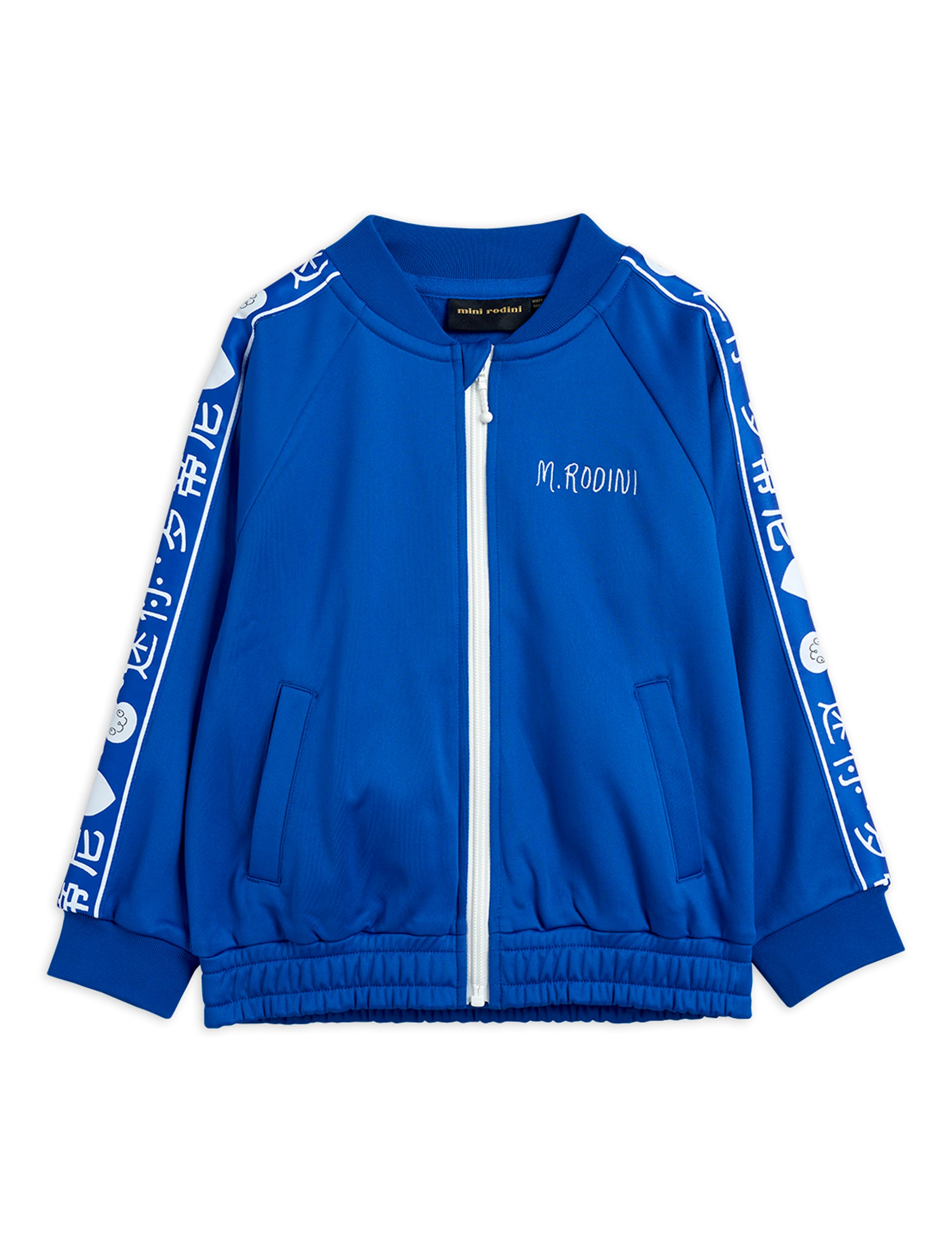 mini rodini rabbit wct jacket blue exclusive