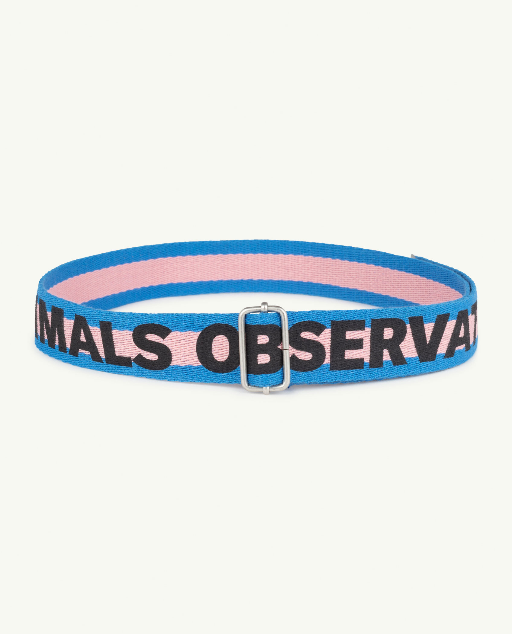 the animals observatory stripes lizard belt pink the animals