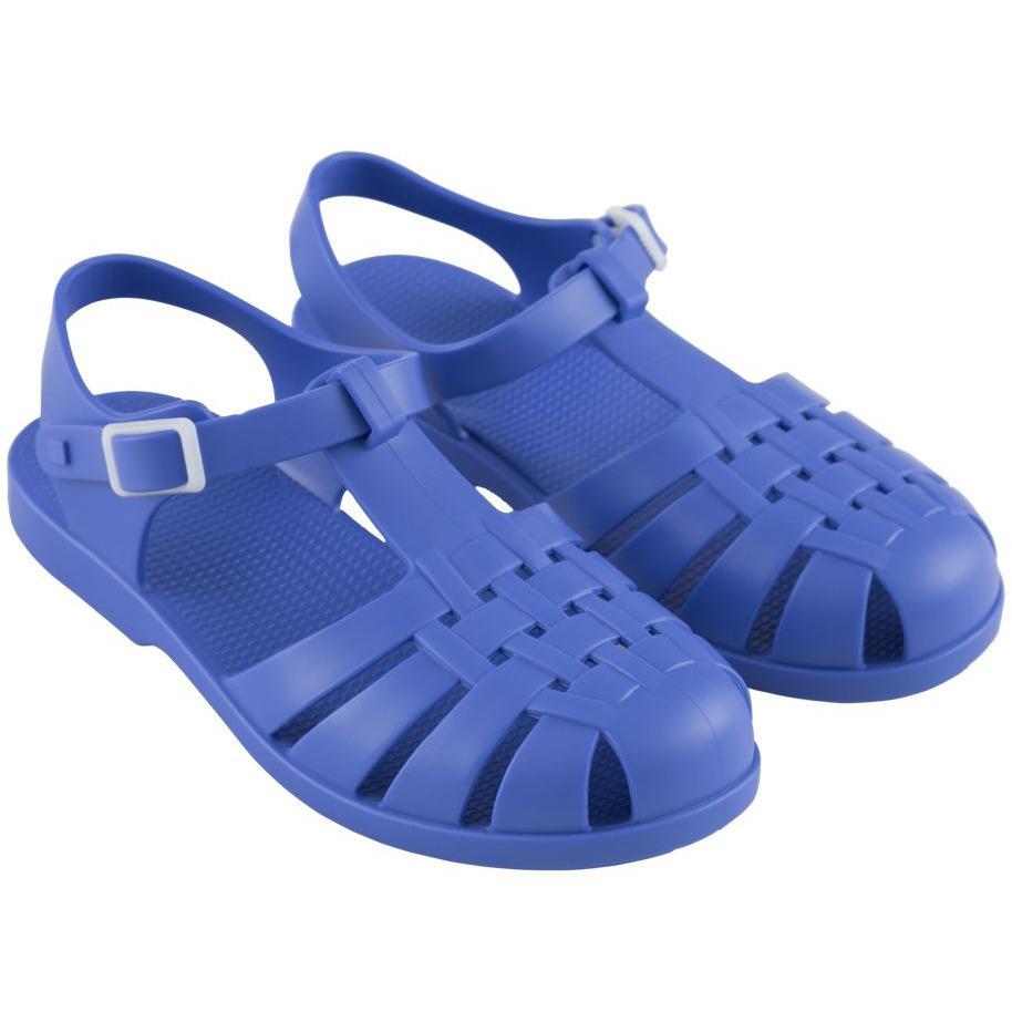 tinycottons jelly sandals iris blue