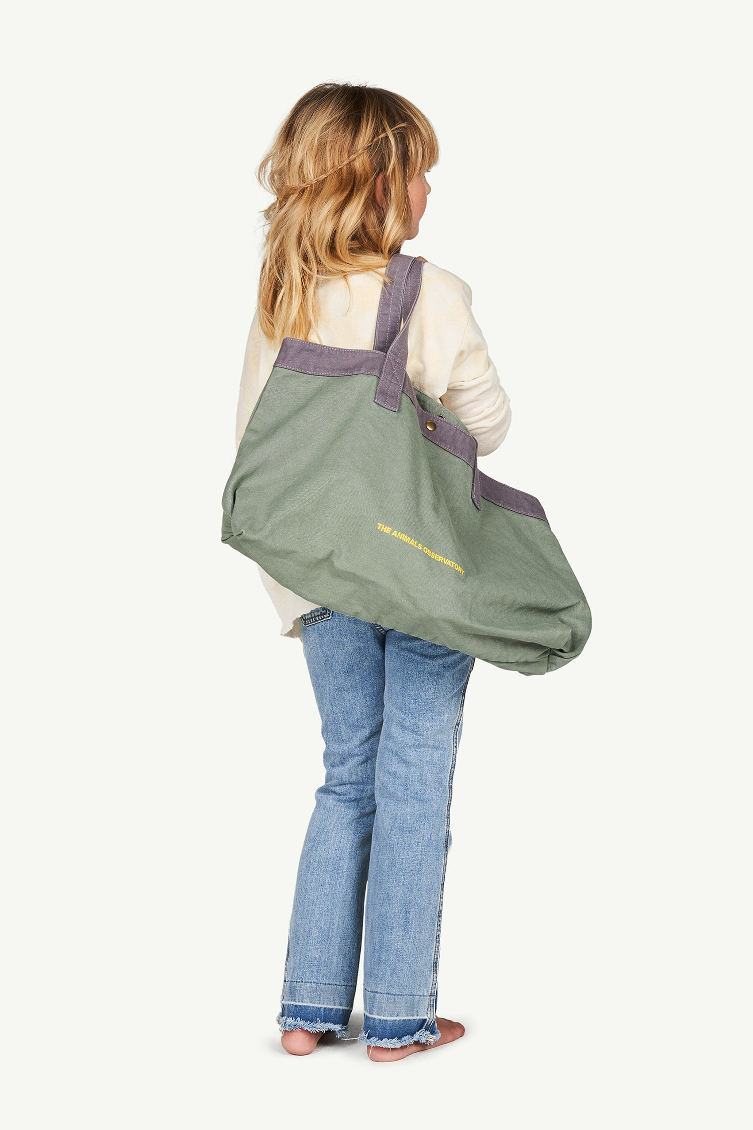 the animals observatory big canvas bag military green the animals