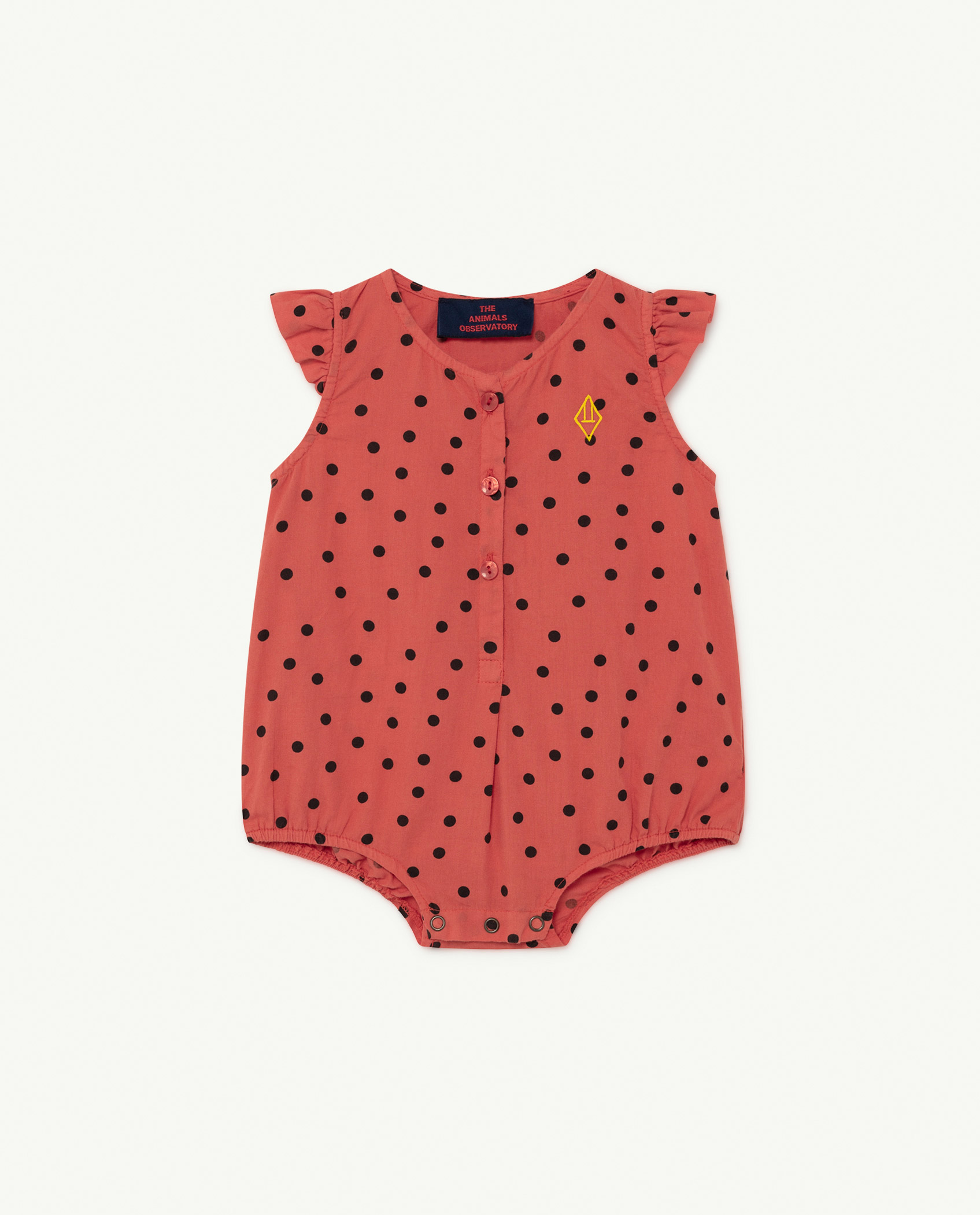 the animals observatory butterfly baby body red dots