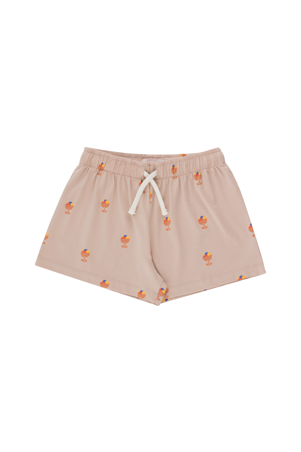 tinycottons ice cream cup shorts dusty pink papaya