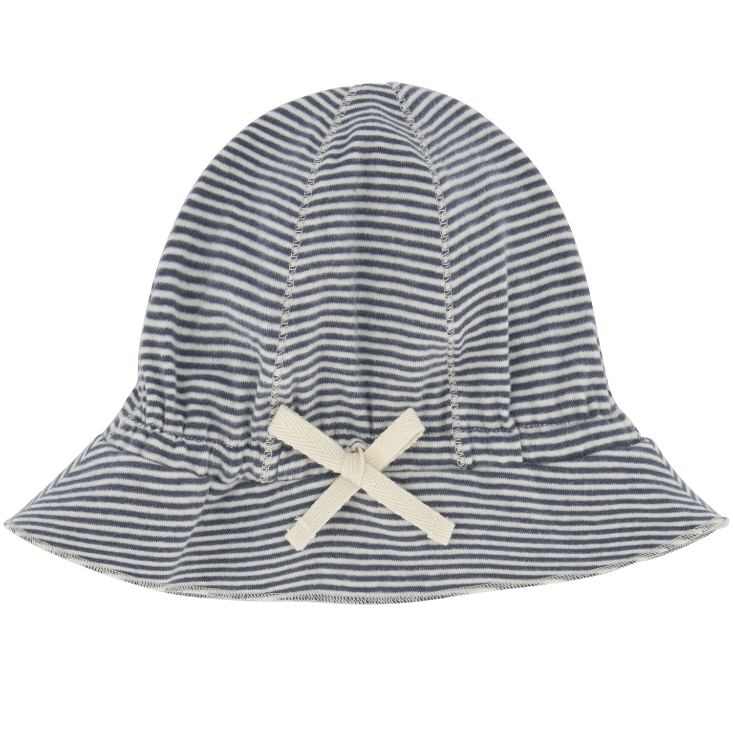 gray label baby sun hat blue grey cream