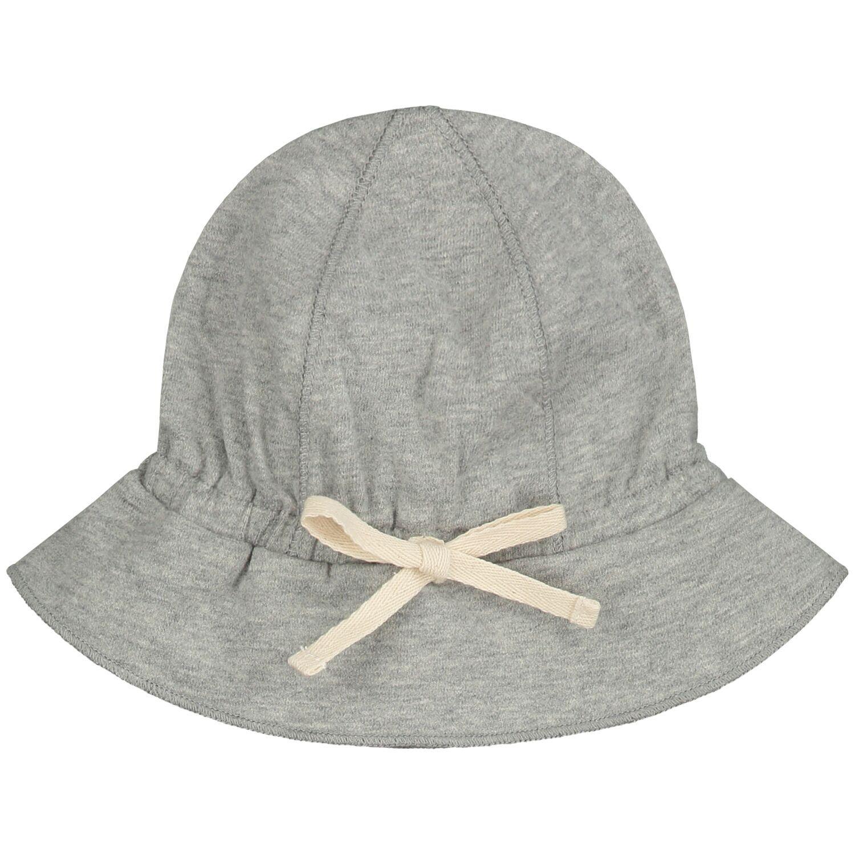 gray label baby sun hat heather grey