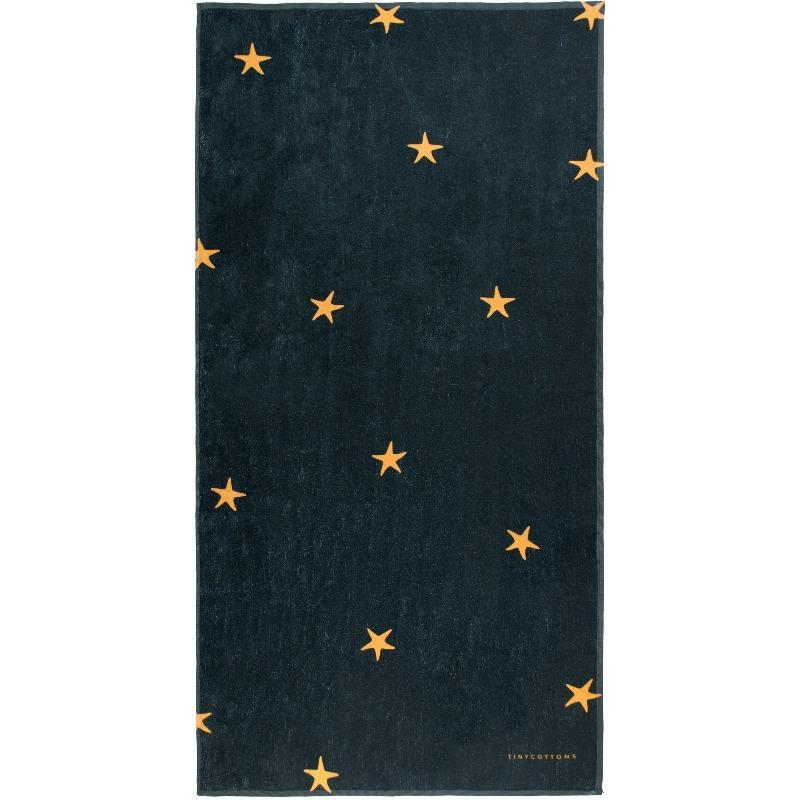 tinycottons starfish towel ink blue honey