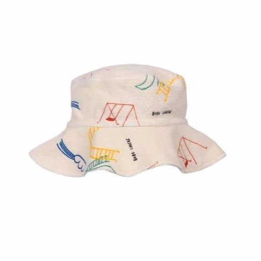 bobo choses playground allover baby hat